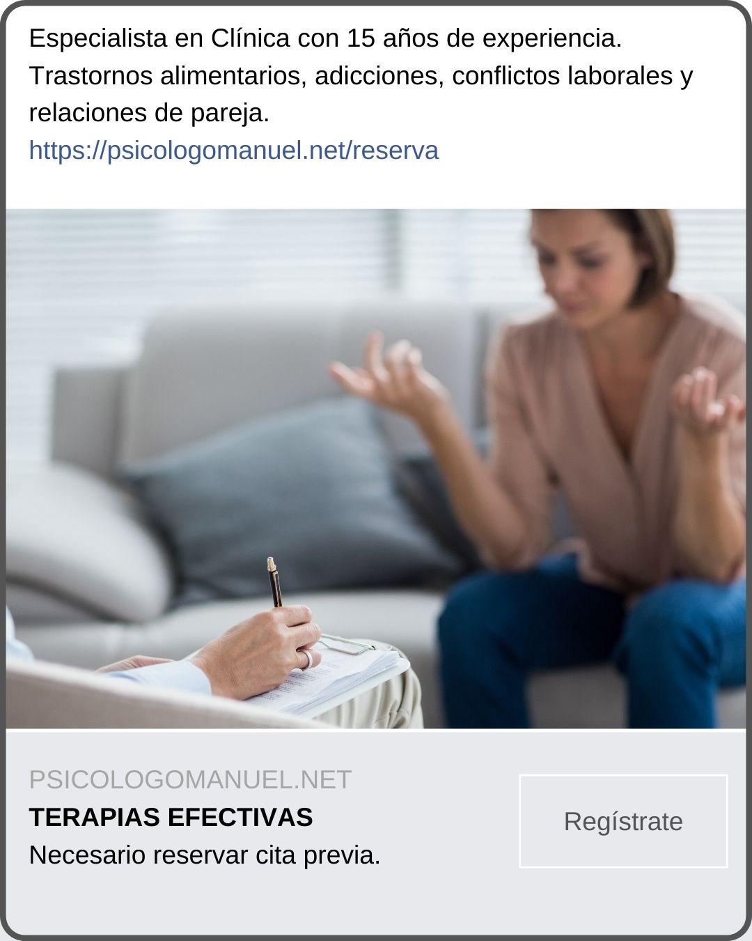 ejemplo anuncio psicólogo